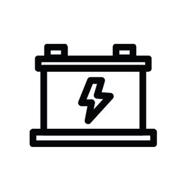 Battery icon by rudezstudio