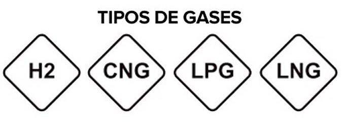 etiqueta gas seat